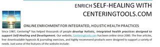 screenshot website handout