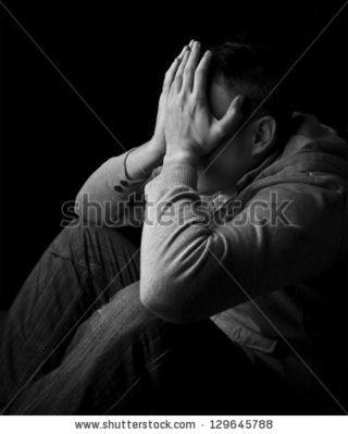 Despair-holding-head
